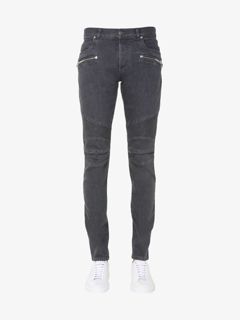 DESTROY SLIM JEANS MEN-CLOTHING JEANS BALMAIN SMETS