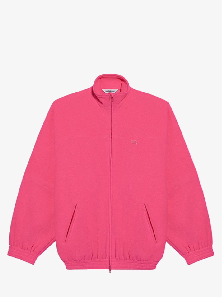 DOUBLE BRUSHED FLEECE TRACKSUIT JACKET WOMEN-CLOTHING JACKET BALENCIAGA SMETS