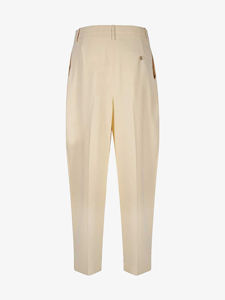 EMBELLISHED CREPE STRAIGHT PANTS WOMEN-CLOTHING PANTS SEE BY CHLOE SMETS