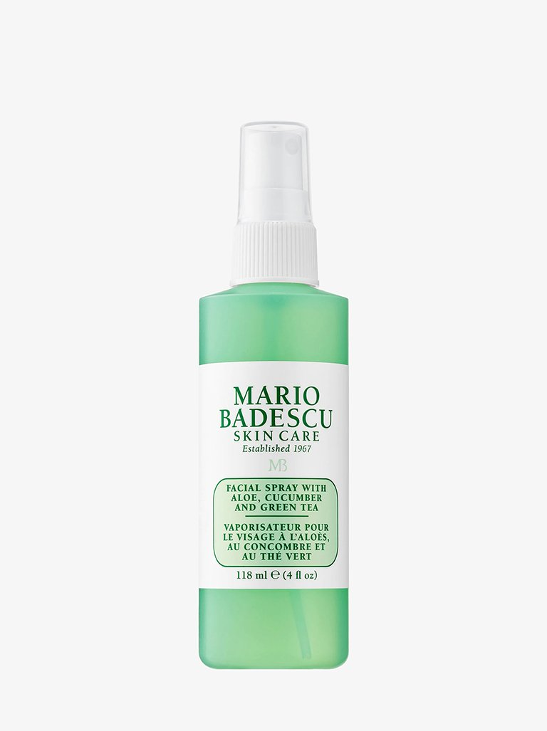 FACIAL SPRAY ALOE CUCUMBER AND GREEN TEA * BEAUTY-FACE CARE MOISTURIZER MARIO BADESCU SMETS