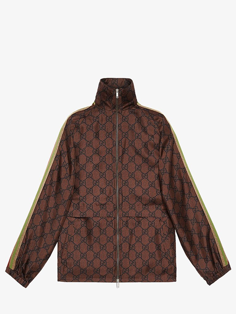 GG SUPREME ZIP JACKET WOMEN-CLOTHING JACKET GUCCI SMETS