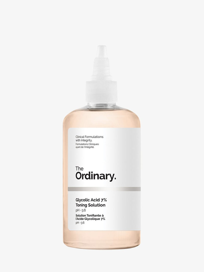 GLYCOLIC ACID 7% TONING SOLUTION * BEAUTY-FACE CARE CLEANSER THE ORDINARY SMETS