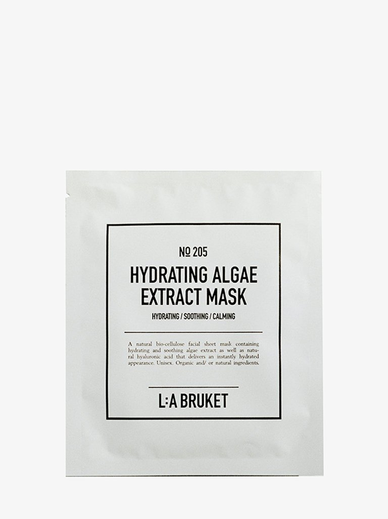 HYDRATING ALGAE EXTRACT MASK NATURAL * BEAUTY-FACE CARE MASK LA BRUKET SMETS