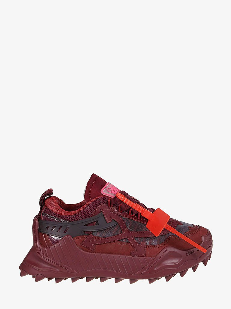 IA180E20FAB0012828 ODSY-1000 SNEAKERS WOMEN-SHOES SNEAKERS OFF-WHITE IT 35 BURGUNDY/BURGUNDY SMETS