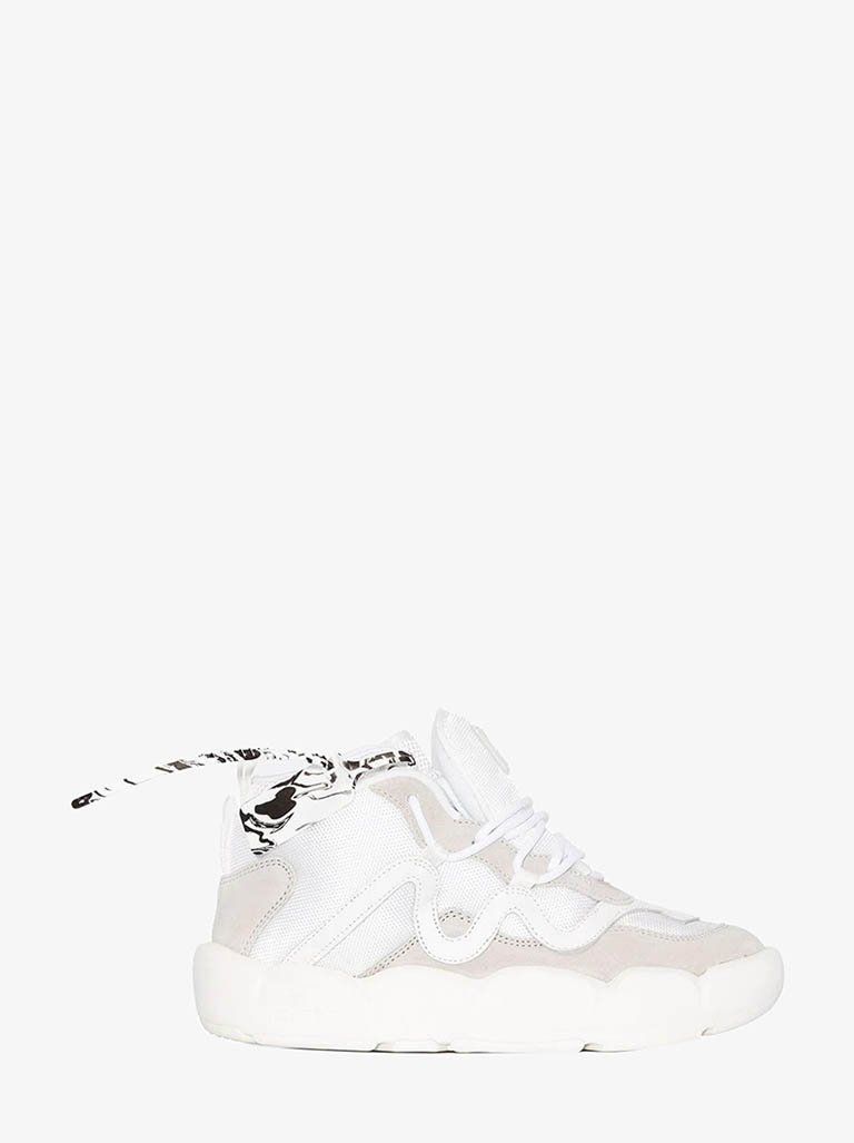 IA218E20FAB0010101 CHLORINE SNEAKERS WOMEN-SHOES SNEAKERS OFF-WHITE IT 35 WHITE/WHITE SMETS