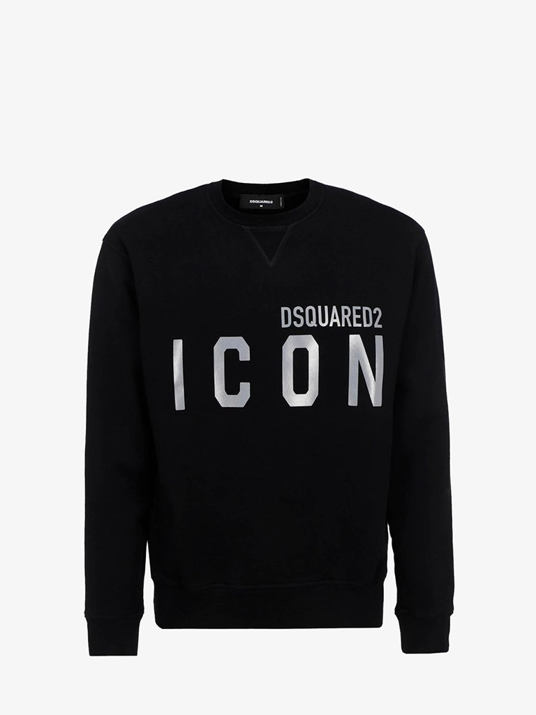 ICON REFLEX SWEATSHIRT MEN-CLOTHING SWEATSHIRT DSQUARED2 SMETS