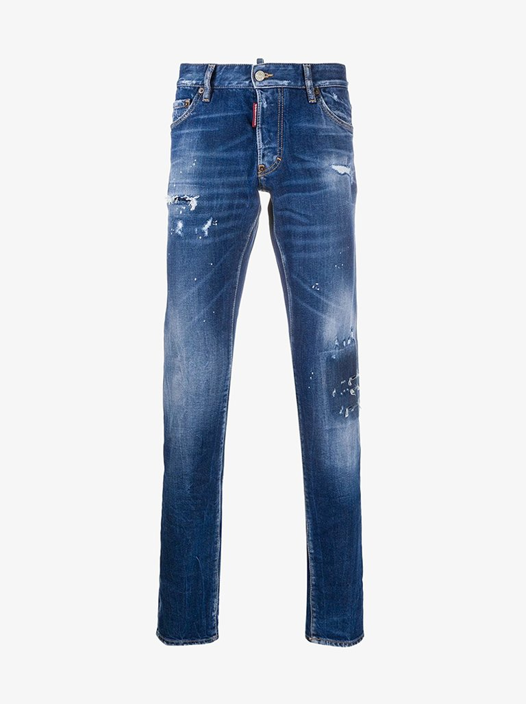 JEANS MEN-CLOTHING JEANS DSQUARED2 SMETS