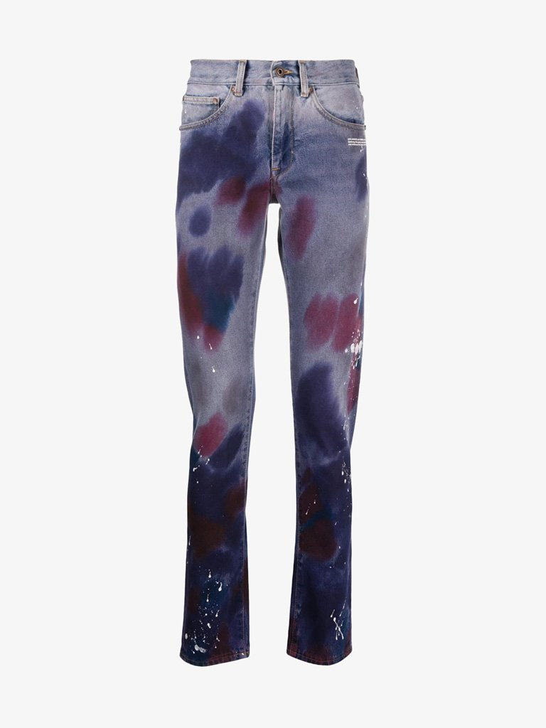 JEANS MEN-CLOTHING JEANS OFF-WHITE SMETS