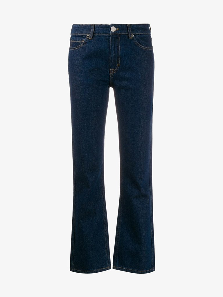 JEANS WOMEN-CLOTHING JEANS VICTORIA BECKHAM SMETS