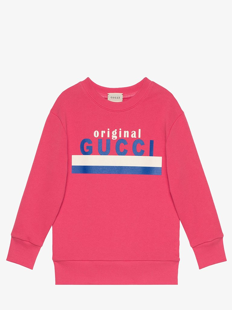 JUNIOR BOYS' ORIGINAL GUCCI SWEATSHIRT KIDS-CLOTHING SWEATSHIRT GUCCI SMETS
