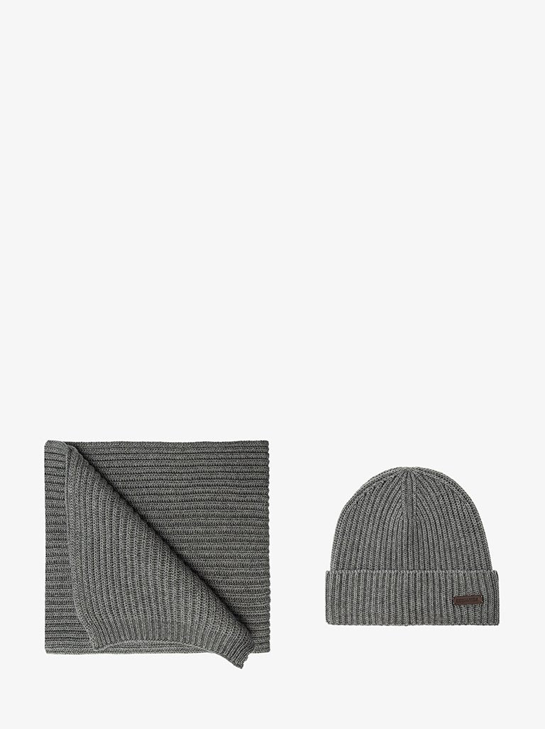KNITTED SCARF AND BEANIE SET MEN-ACCESSORIES SCARF DSQUARED2 SMETS