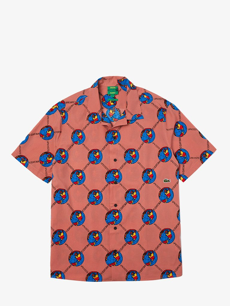 LACOSTE x CHINATOWN MARKET SHIRT UNISEX SHIRT LACOSTE SMETS