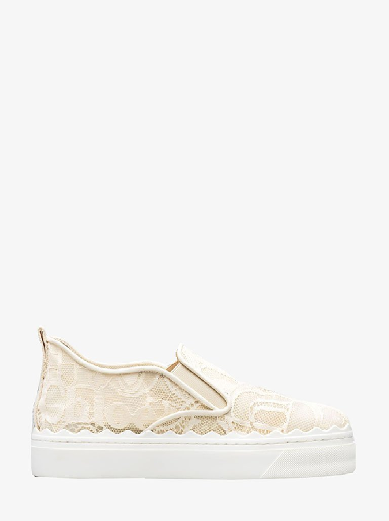 LAUREN SMOOTH SNEAKERS WOMEN-SHOES SNEAKERS CHLOÉ SMETS