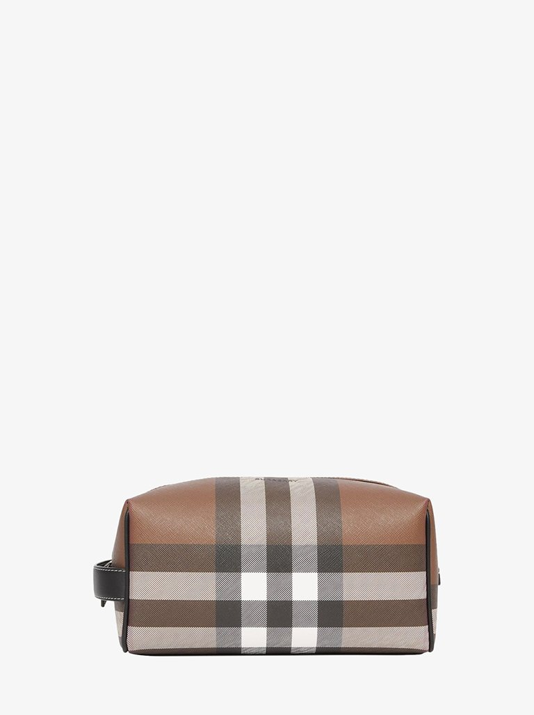LONDON CHECK TRAVEL POUCH MEN-BAGS POUCH BURBERRY SMETS