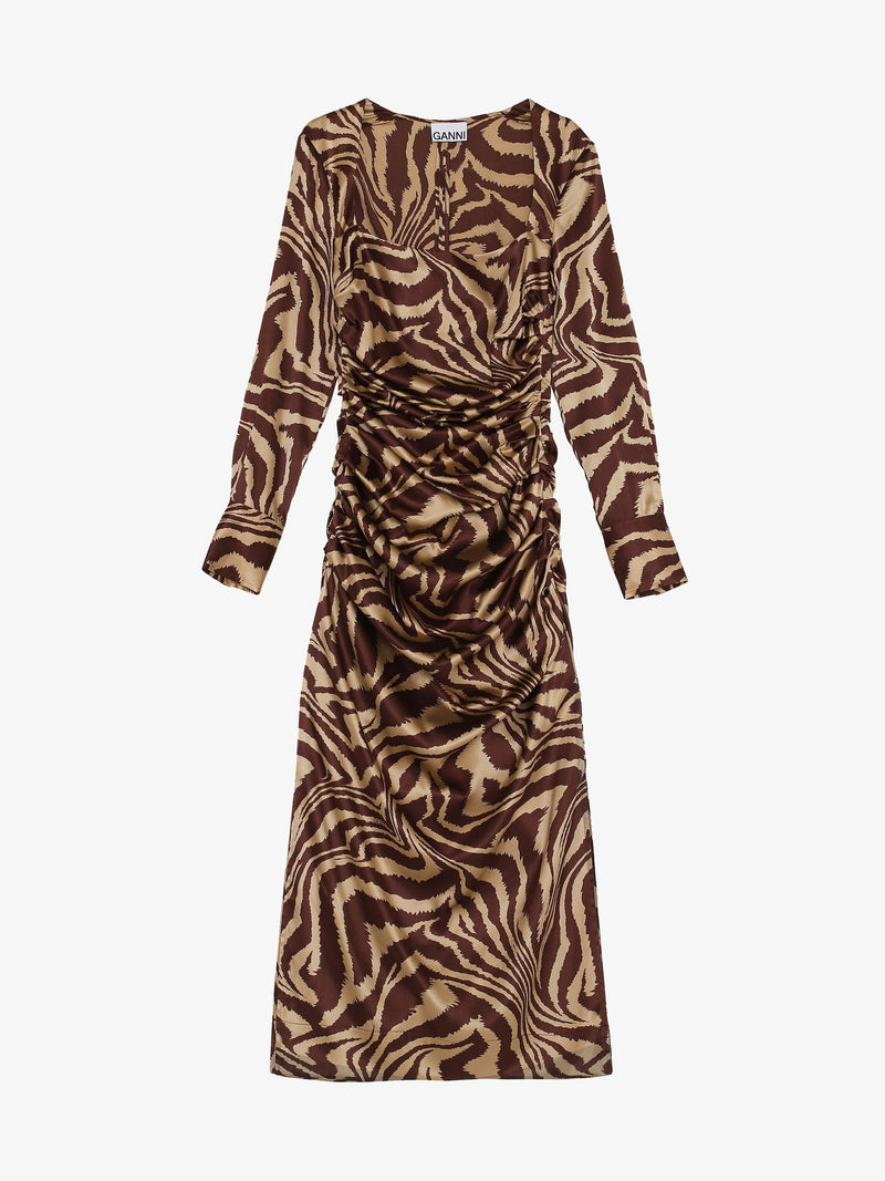 LONG DRESS WOMEN-CLOTHING LONG DRESS GANNI SMETS