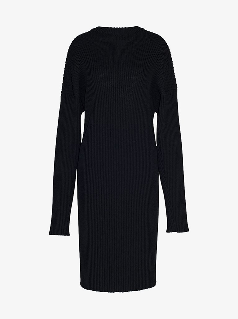LONG SLEEVE DRESS WOMEN-CLOTHING LONG DRESS BOTTEGA VENETA SMETS