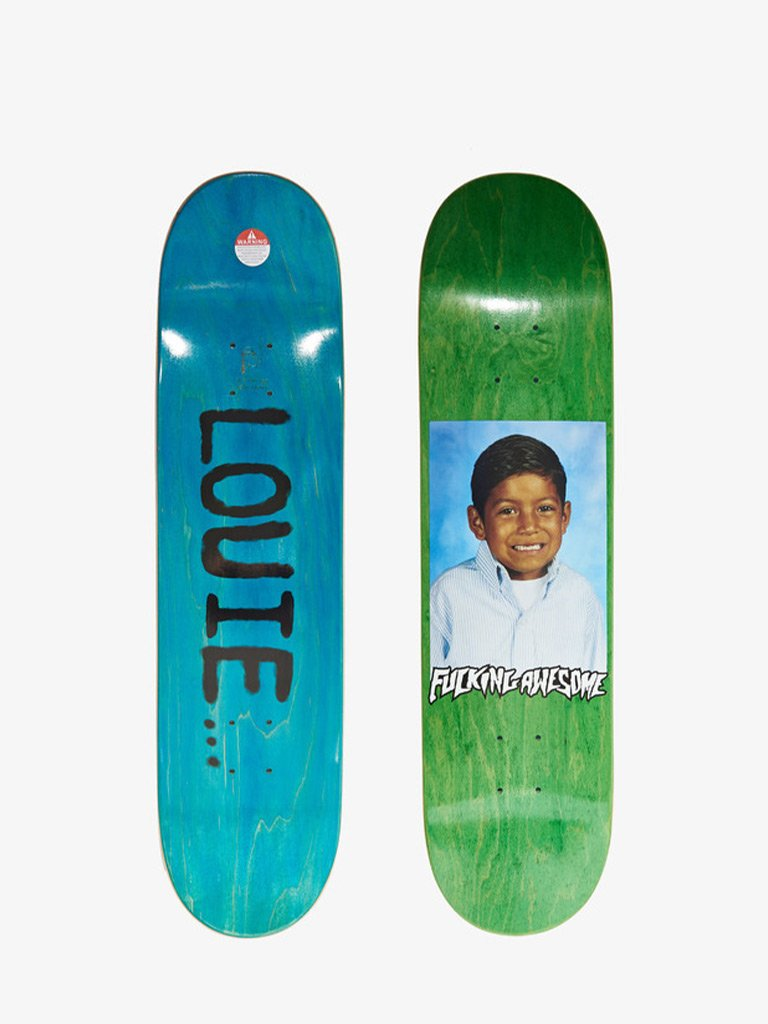 LOUIE LOPEZ SKATEBOARD DECK * LIFESTYLE SKATEBOARD DECK FUCKING AWESOME SMETS