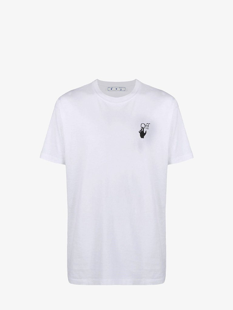 MARKER SLIM T-SHIRT MEN-CLOTHING T-SHIRT OFF-WHITE SMETS