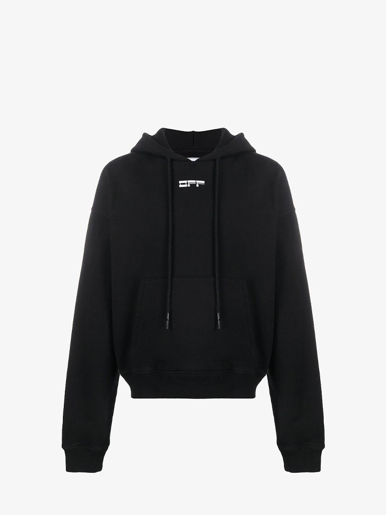 MASKED FACE HOODIE * MEN-CLOTHING HOODIE OFF-WHITE SMETS
