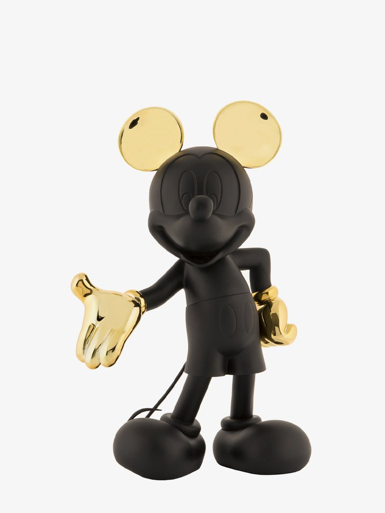 MICKEY WELCOME BICOLORE BLACK&GOLD LIFESTYLE-COLLECTIBLE LEBLON DELIENNE SMETS