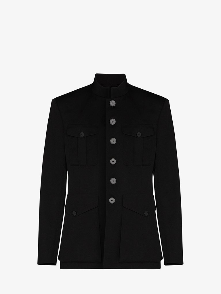 MILITARY TAILORED JACKET MEN-CLOTHING JACKET BALENCIAGA SMETS