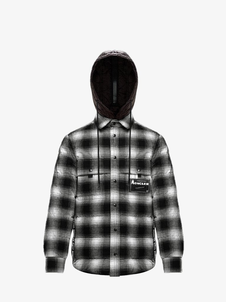 MONCLER x FRAGMENT DANVER CHECKED JACKET * MEN-CLOTHING JACKET MONCLER GENIUS SMETS