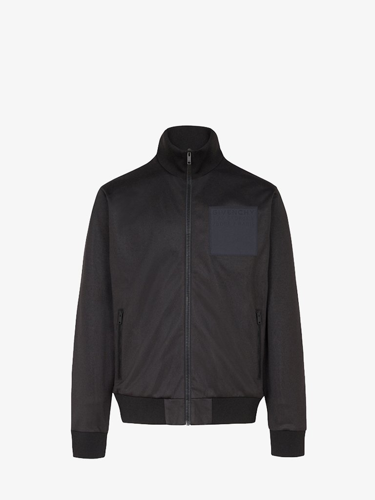 NEOPRENE PATCH TRACK JACKET MEN-CLOTHING JACKET GIVENCHY SMETS
