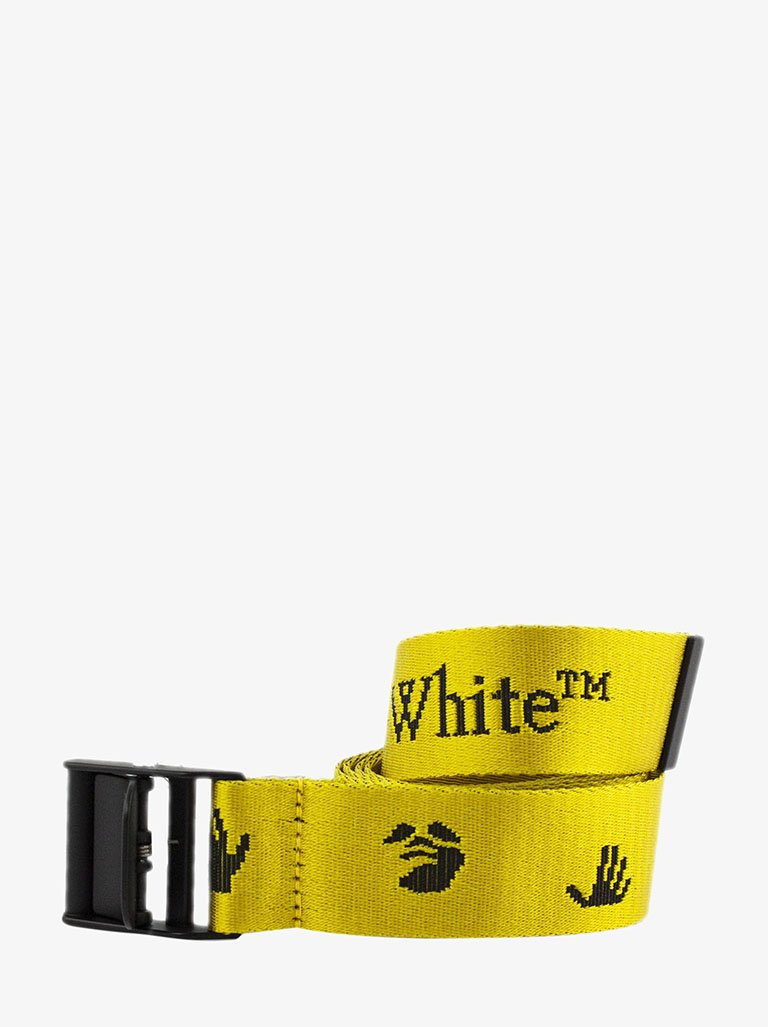 NEW LOGO CLASSIC INDUSTR BELT * WOMEN-ACCESSORIES BELT OFF-WHITE SMETS