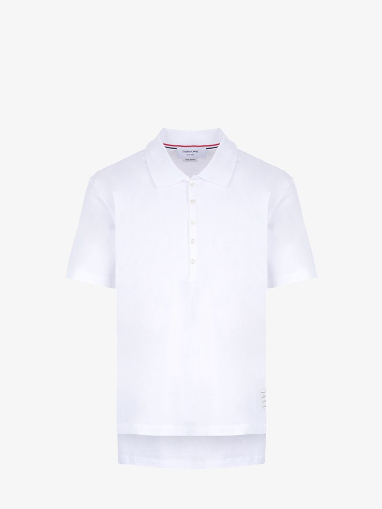POLO MEN-CLOTHING POLO THOM BROWNE SMETS