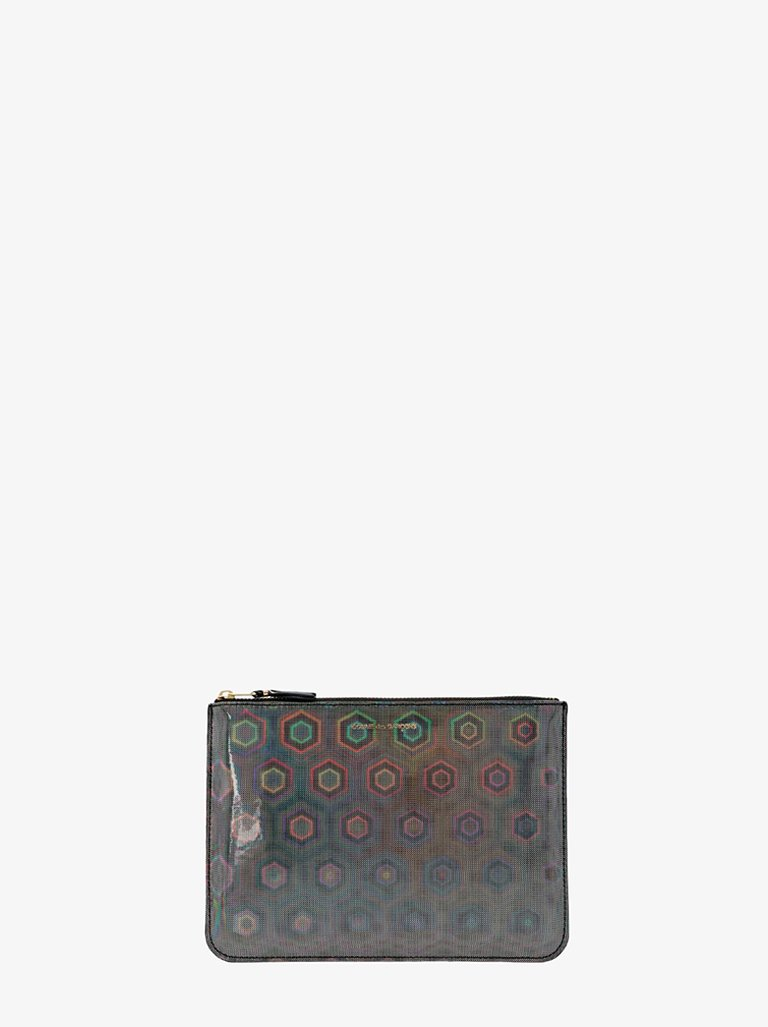 RAINBOW 1 SIDE ZIP WALLET WOMEN-ACCESSORIES WALLET COMME DES GARÇONS SMETS