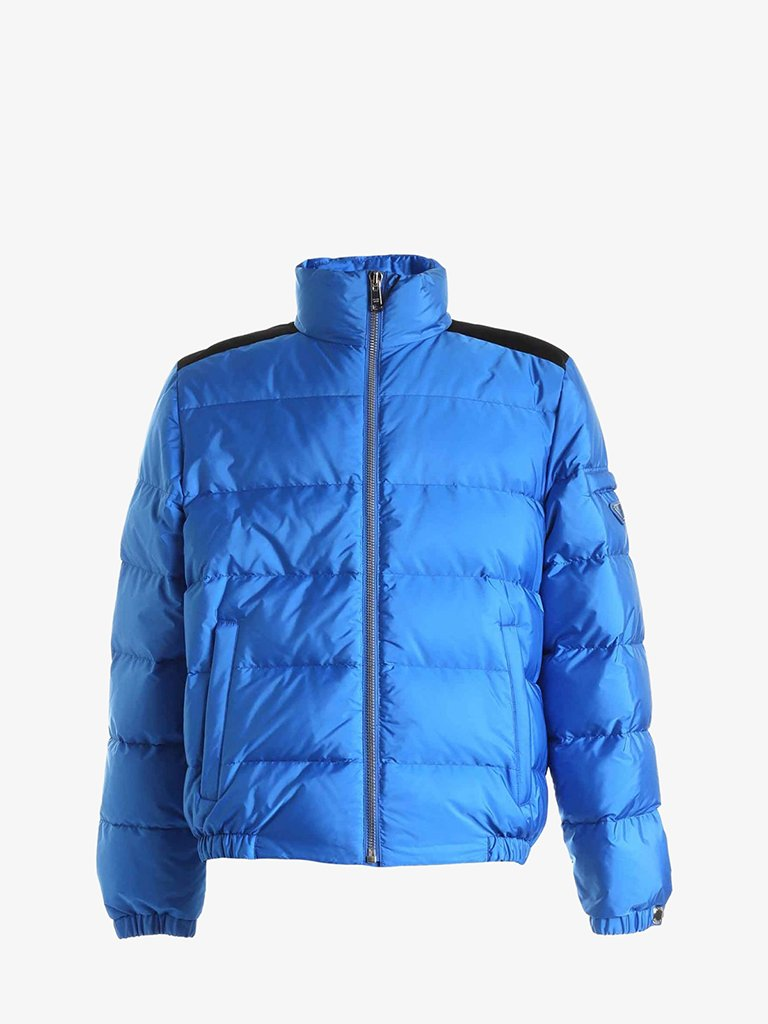 RE-NYLON FEATHER DOWN JACKET MEN-CLOTHING DOWN JACKET PRADA SMETS