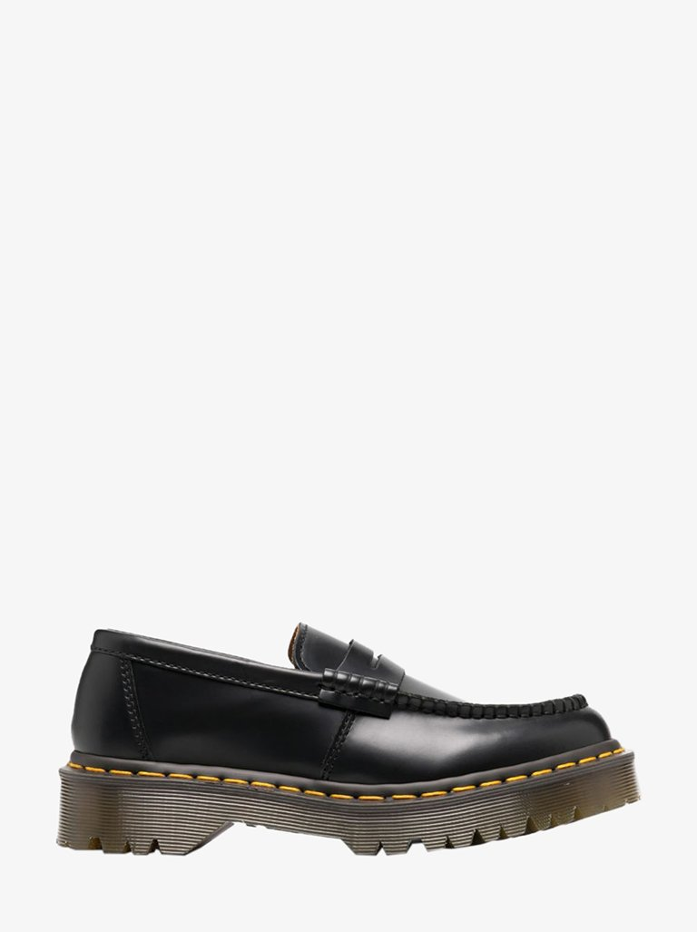 RFK1031 CDG x DR MARTENS LOAFERS WOMEN-SHOES LOAFERS COMME DES GARÇONS UK 5 BLACK SMETS
