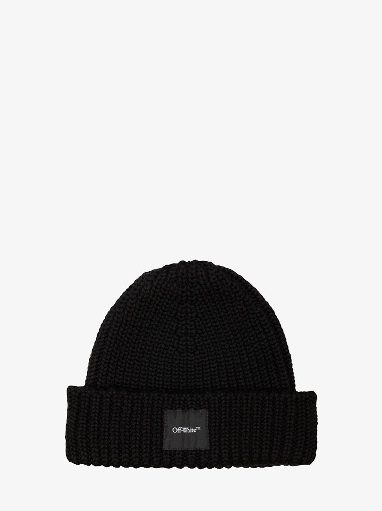 RIB WOOL BEANIE * MEN-ACCESSORIES BEANIE OFF-WHITE SMETS