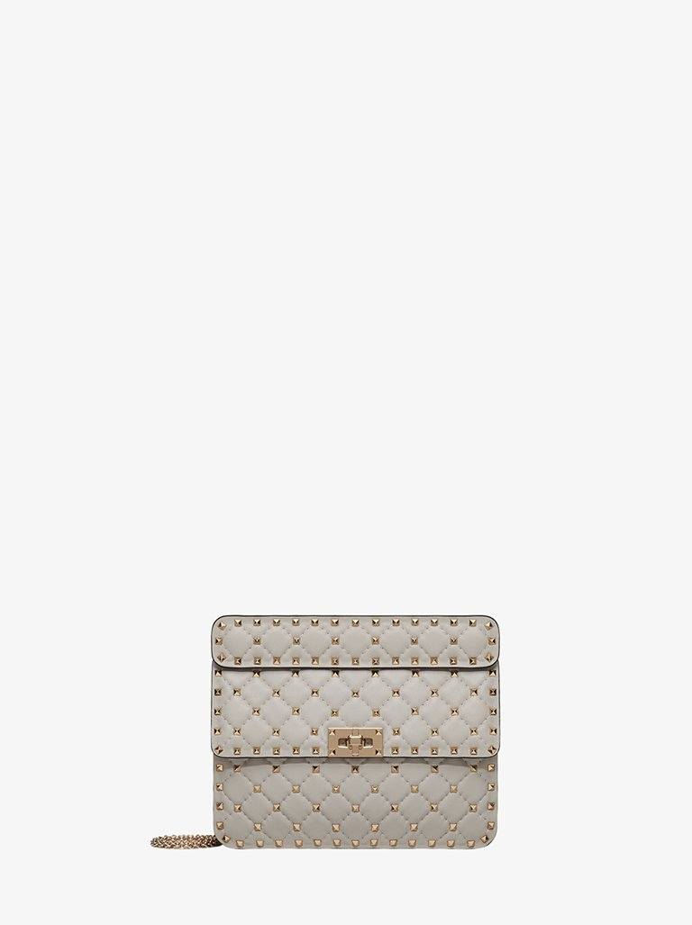 ROCKSTUD MEDIUM SHOULDER BAG WOMEN-BAGS SHOULDER BAG VALENTINO SMETS
