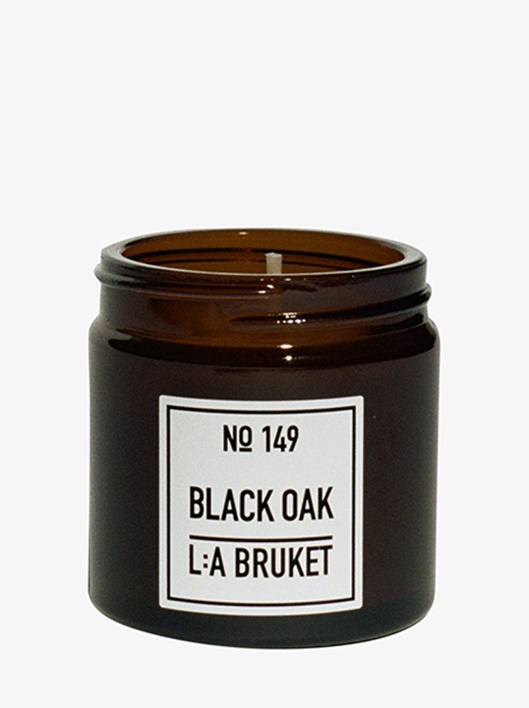 SCENTED CANDLE BLACK OAK * LIFESTYLE-CANDLES HOME FRAGRANCES LA BRUKET SMETS