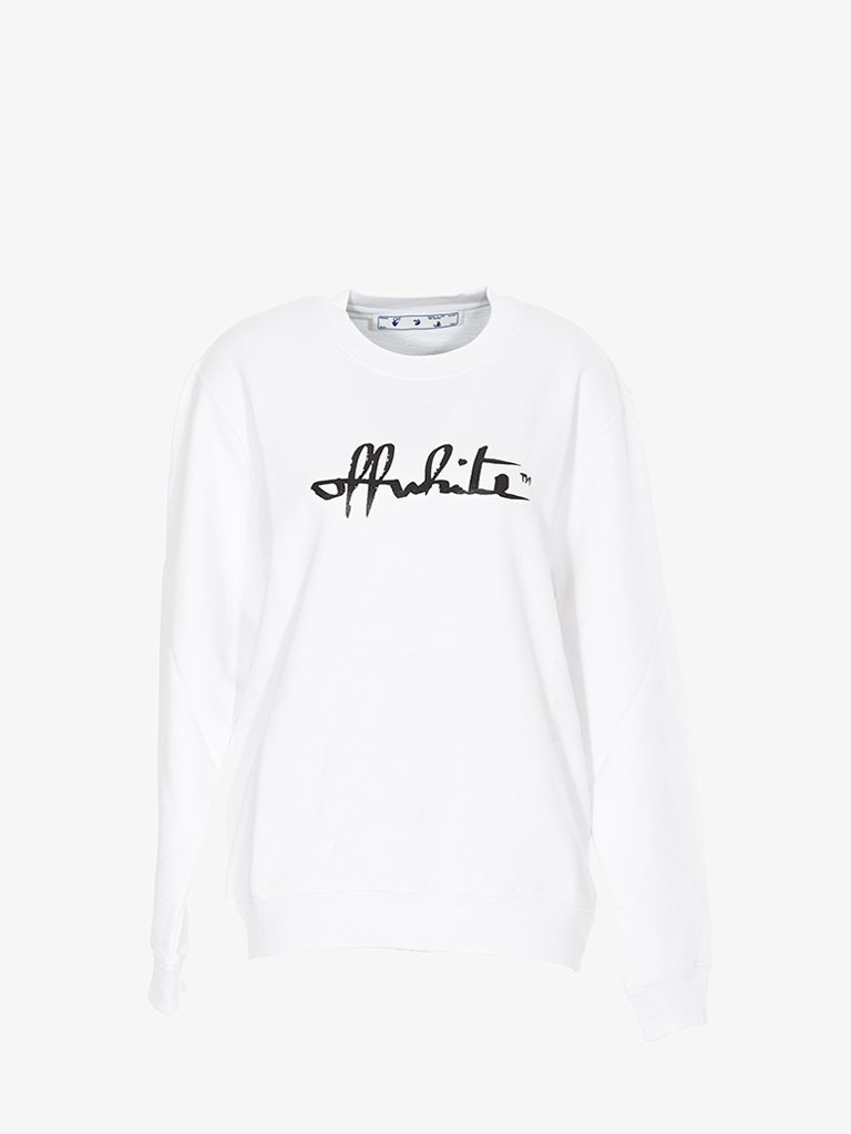 SCRIPT 21 SWEATSHIRT * WOMEN-CLOTHING SWEATSHIRT OFF-WHITE SMETS