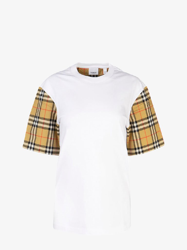 SERRA T-SHIRT WOMEN-CLOTHING T-SHIRT BURBERRY SMETS