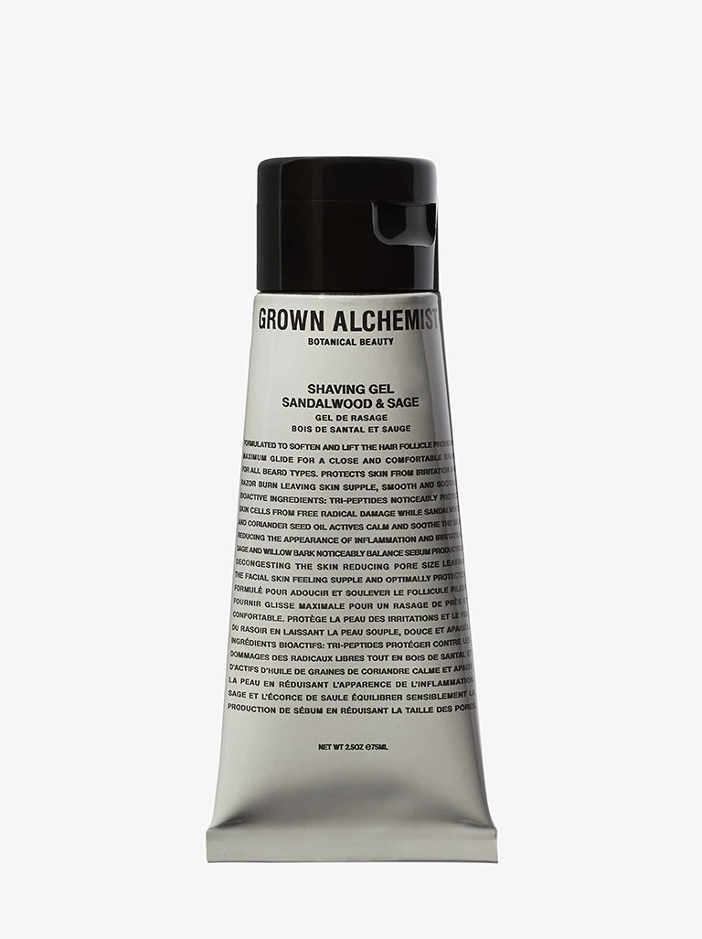 SHAVING GEL BEAUTY-FACE CARE MOISTURIZER GROWN ALCHEMIST SMETS