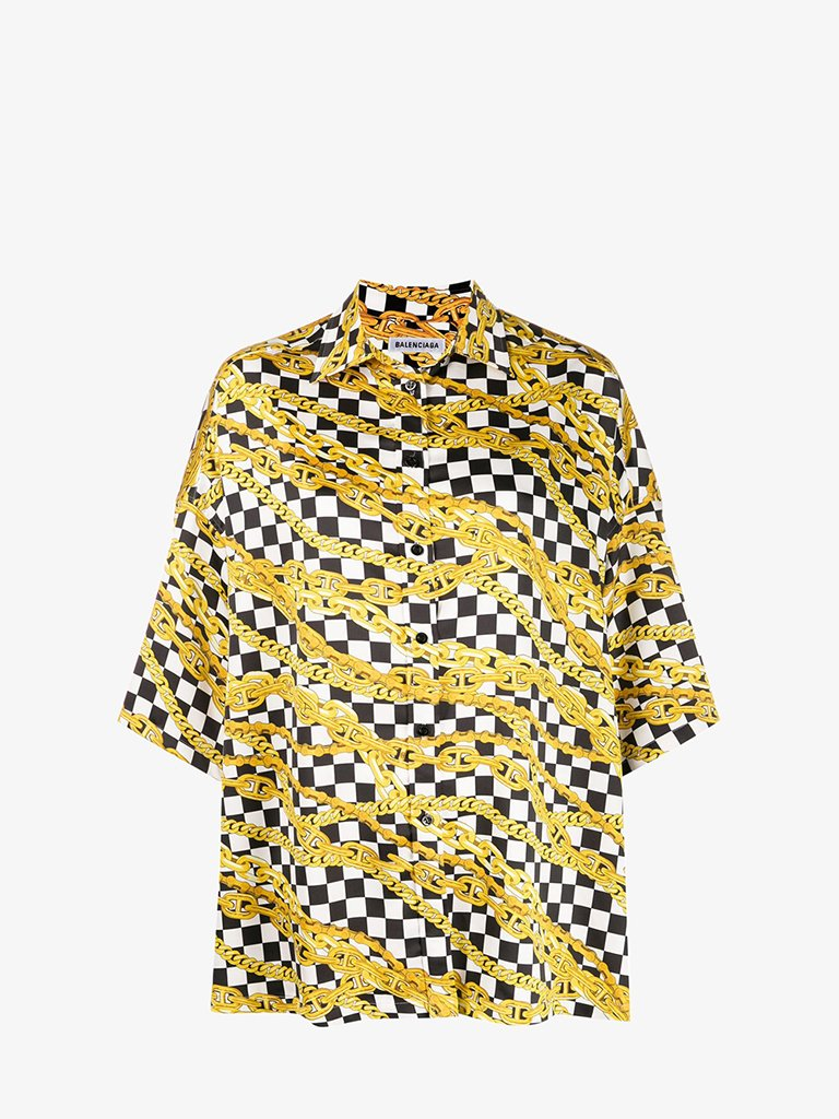 SHIRT WOMEN-CLOTHING SHIRT BALENCIAGA SMETS