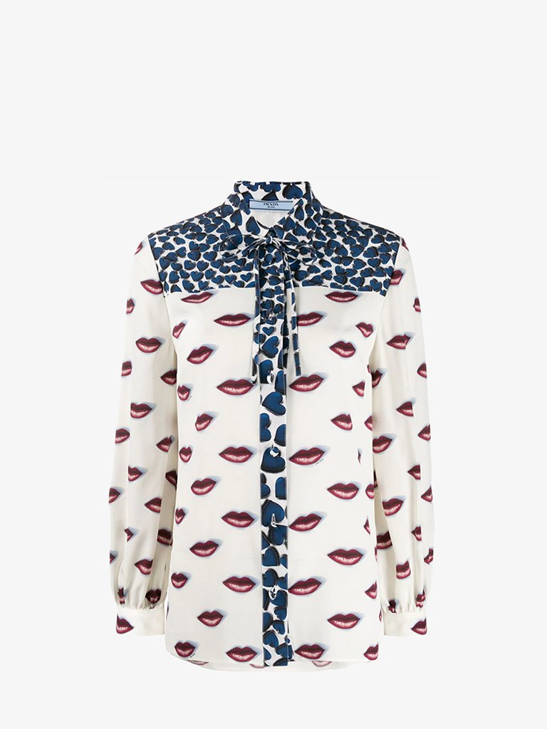SHIRT WOMEN-CLOTHING SHIRT PRADA SMETS