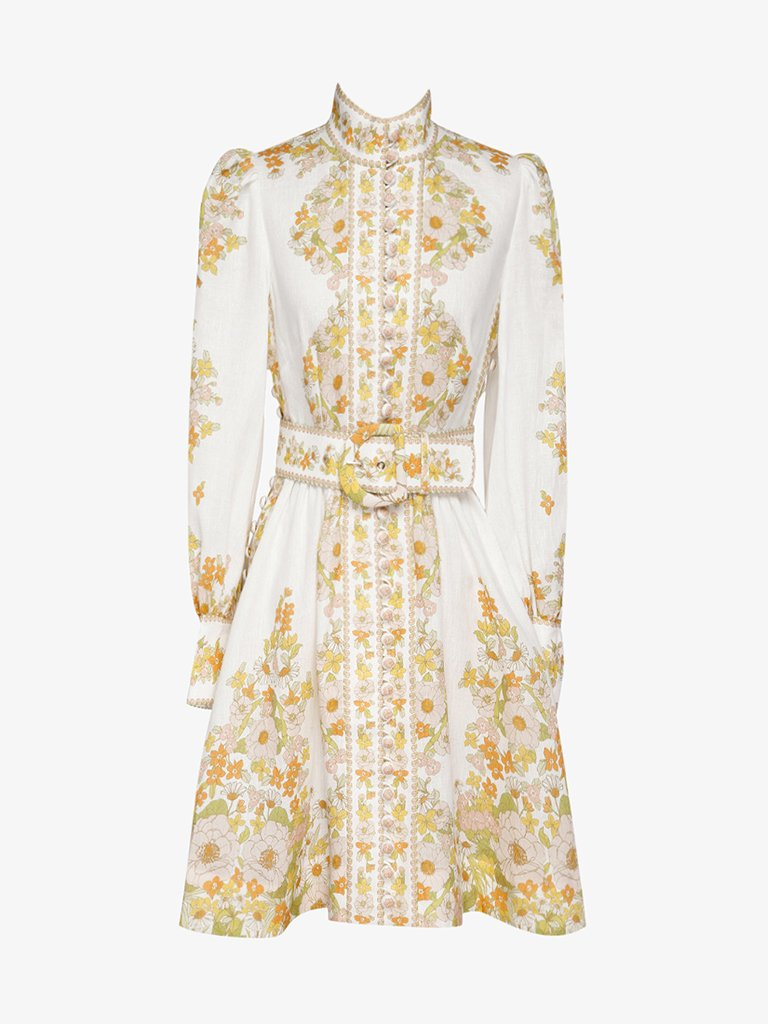 SHORT DRESS WOMEN-CLOTHING SHORT DRESS ZIMMERMANN SMETS