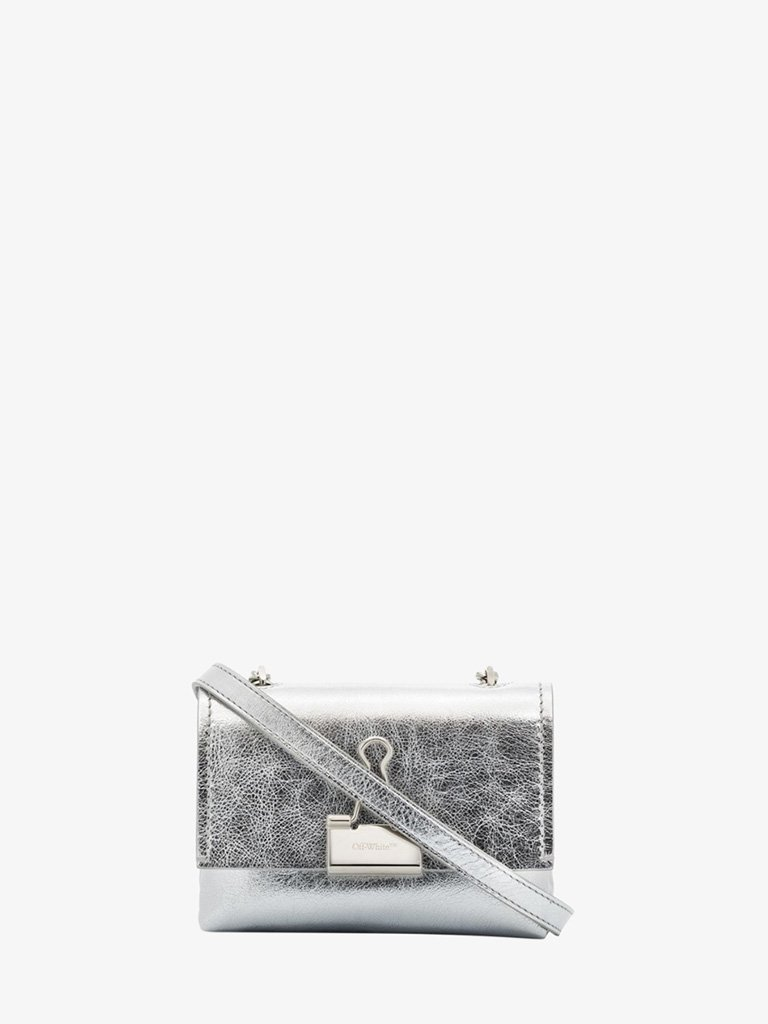 SHOULDER BAG WOMEN-BAGS SHOULDER BAG OFF-WHITE SMETS