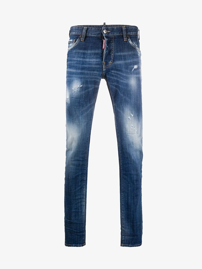 SLIM JEANS * MEN-CLOTHING JEANS DSQUARED2 SMETS