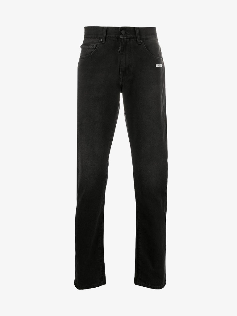 SLIM JEANS * MEN-CLOTHING JEANS OFF-WHITE SMETS