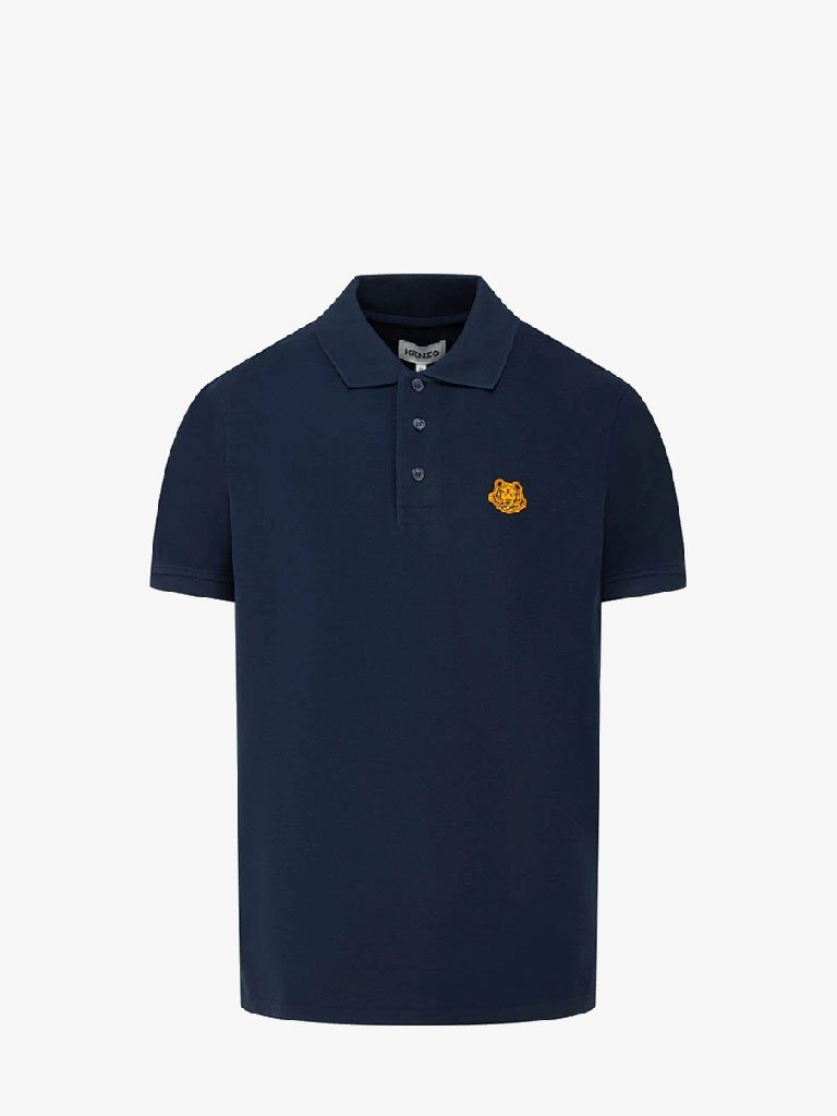 SOLID PIQUE TIGER CREST K FIT POLO MEN-CLOTHING POLO KENZO SMETS