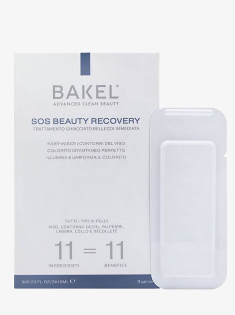 SOS BEAUTY RECOVERY INSTANT BEAUTIFYING FROZEN TREATMENT BEAUTY-FACE CARE SERUM BAKEL SMETS