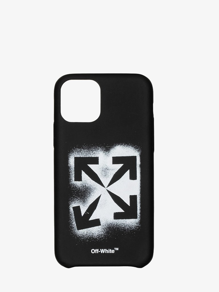 STENCIL IPHONE 11 PRO CASE * MEN-ACCESSORIES IPHONE CASE OFF-WHITE SMETS