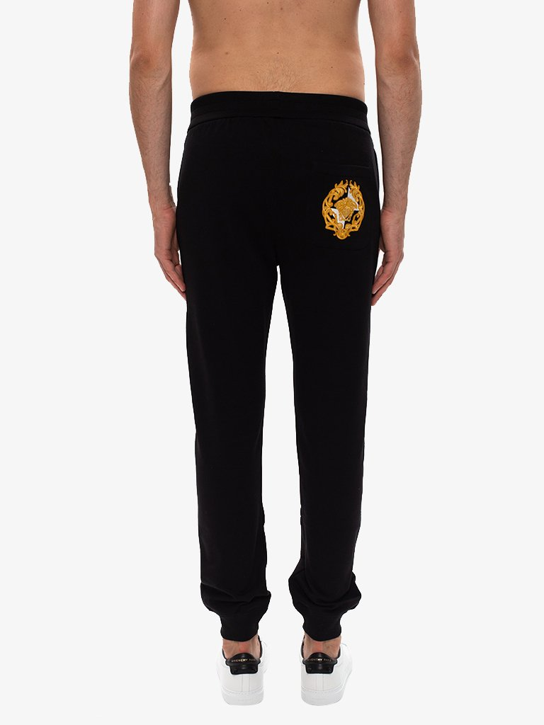TAYLOR FIT SWEATPANTS MEN-CLOTHING SWEATPANTS VERSACE SMETS