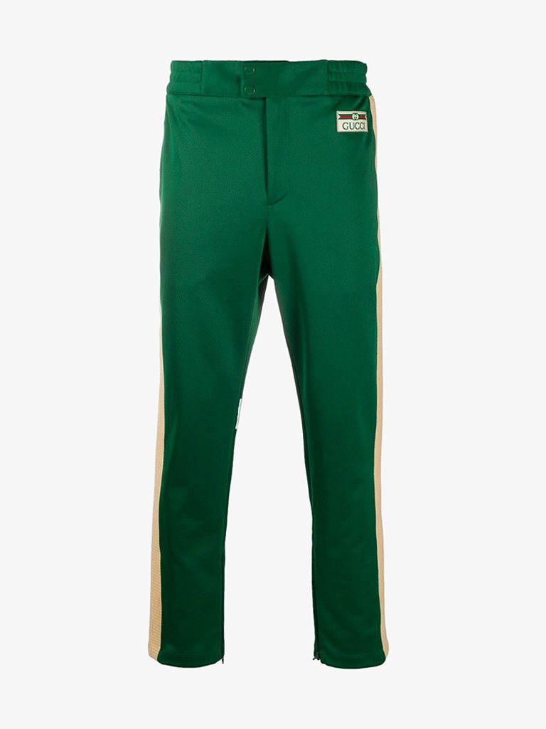 TECHNICAL 70'S PANTS MEN-CLOTHING PANTS GUCCI SMETS