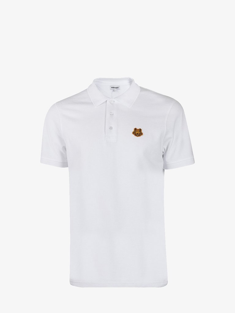 TIGER CREST POLO MEN-CLOTHING POLO KENZO SMETS